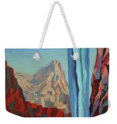 Through The Narrows, Zion Weekender Tote Bag by Erin Fickert-Rowland