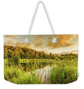 Through The Reeds Weekender Tote Bag by Nick Bywater