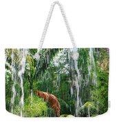 Through The Waterfall Weekender Tote Bag