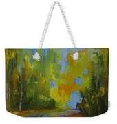 Through The Woods Abstractly Weekender Tote Bag