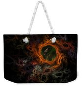 Through The Worm Hole Weekender Tote Bag