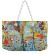 Through Time And Space Weekender Tote Bag