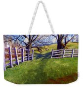 Throught The Pasture Gate Weekender Tote Bag
