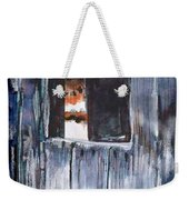 Thru The Barn Window Weekender Tote Bag