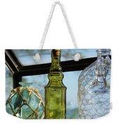 Thru The Looking Glass 3 Weekender Tote Bag by Megan Cohen
