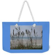 Thru The Sea Oats Weekender Tote Bag