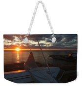 Sunrise @ Lake Weekender Tote Bag