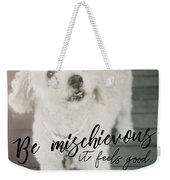Thumper Dog Quote Weekender Tote Bag