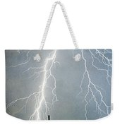 Thunderbolts From  The Heavens Above Weekender Tote Bag