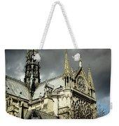 Thunderous Notre Dame Weekender Tote Bag