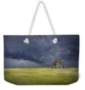 Thunderstorm On The Prairie Weekender Tote Bag