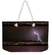 Thunderstorm Sequence Weekender Tote Bag