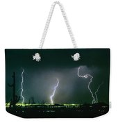 Thunderstorm View From North Scottsdale Arizona Weekender Tote Bag