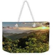 Thunderstruck Sunset Weekender Tote Bag