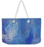 Thy Right Hand Upholdeth Me Weekender Tote Bag