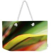 Ti-leaf Abstract Weekender Tote Bag