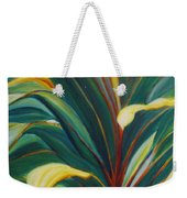 Ti Leaves Too Weekender Tote Bag