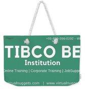 Tibco Be Training Institution Weekender Tote Bag