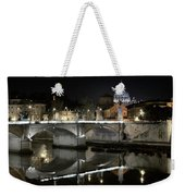Tiber's Reflection Of Religion Weekender Tote Bag