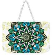 Tibetan Mandala Seamless Pattern Weekender Tote Bag