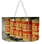 Tibetan Prayer Wheel  Weekender Tote Bag