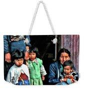 Tibetan Refugees Weekender Tote Bag
