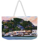 Tiburon California Waterfront Weekender Tote Bag