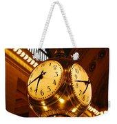 Tick Tock Weekender Tote Bag