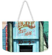Ticket Window For Show Tickets Weekender Tote Bag