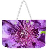 Tickled Purple Weekender Tote Bag
