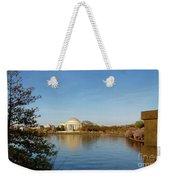 Tidal Basin And Jefferson Memorial Weekender Tote Bag