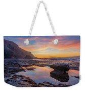 Tidal Pool At Sunset Weekender Tote Bag by Dmytro Korol