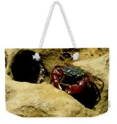 Tide Pool Crab 1 Weekender Tote Bag