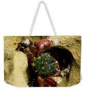 Tide Pool Crab 2 Weekender Tote Bag
