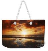 Tidepool At Sunset Weekender Tote Bag