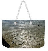 Tides Out After The Storm Weekender Tote Bag