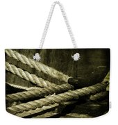 Tied Down For Good Weekender Tote Bag