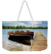 Tied To The Jetty Weekender Tote Bag