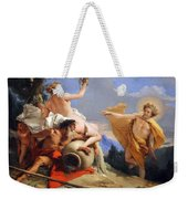 Tiepolo's Apollo Pursuing Daphne Weekender Tote Bag