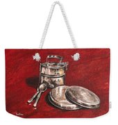 Tiffin Carrier - Still Life Weekender Tote Bag