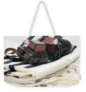 Tifillin And Talit Weekender Tote Bag