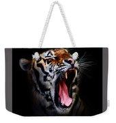 Tiger 10 Weekender Tote Bag
