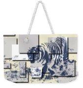 Tiger 5 Weekender Tote Bag