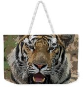 Tiger Abstract Weekender Tote Bag