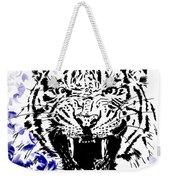 Tiger And Paisley Weekender Tote Bag