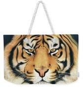 Tiger At Midnight Weekender Tote Bag