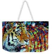 Tiger Big Colors Weekender Tote Bag