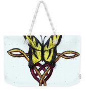 Tiger-butterfly Celtic Double Knot Weekender Tote Bag