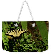 Tiger Butterfly Posing Weekender Tote Bag