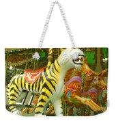 Tiger Carousel Weekender Tote Bag